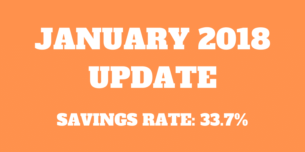 January 2018 Update – Ph.D. and good savings