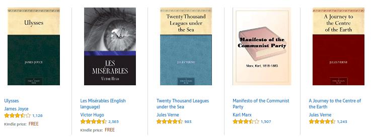 Kindle public domain free ebooks