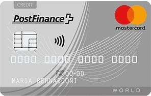 PostFinance MasterCard Classic