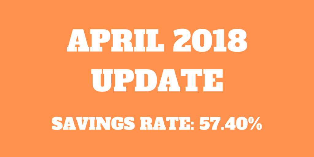 April 2018 – Birthday and new savings record