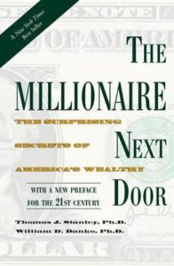 The Millionaire Next Door Book Logo