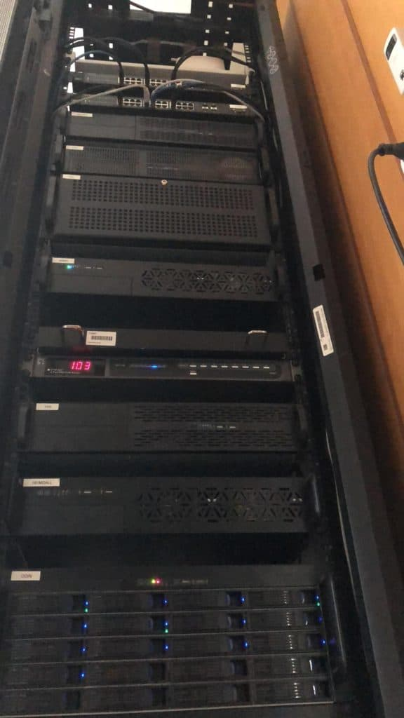 My Servers Rack at home
