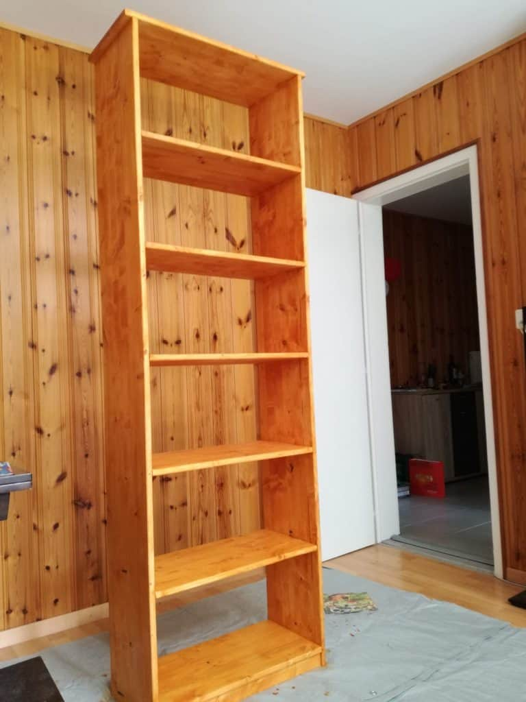 How To Build A Diy Bookshelf For 65 The Poor Swiss
