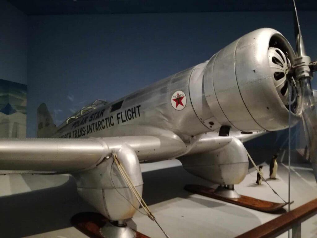 Old transatlantic plane