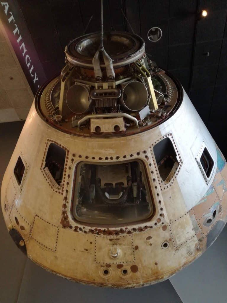 A space landing module