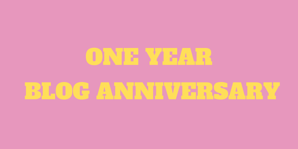 One Year Blog Anniversary! Lessons and Next Steps