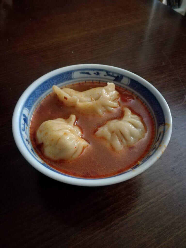 Our homemade dumplings