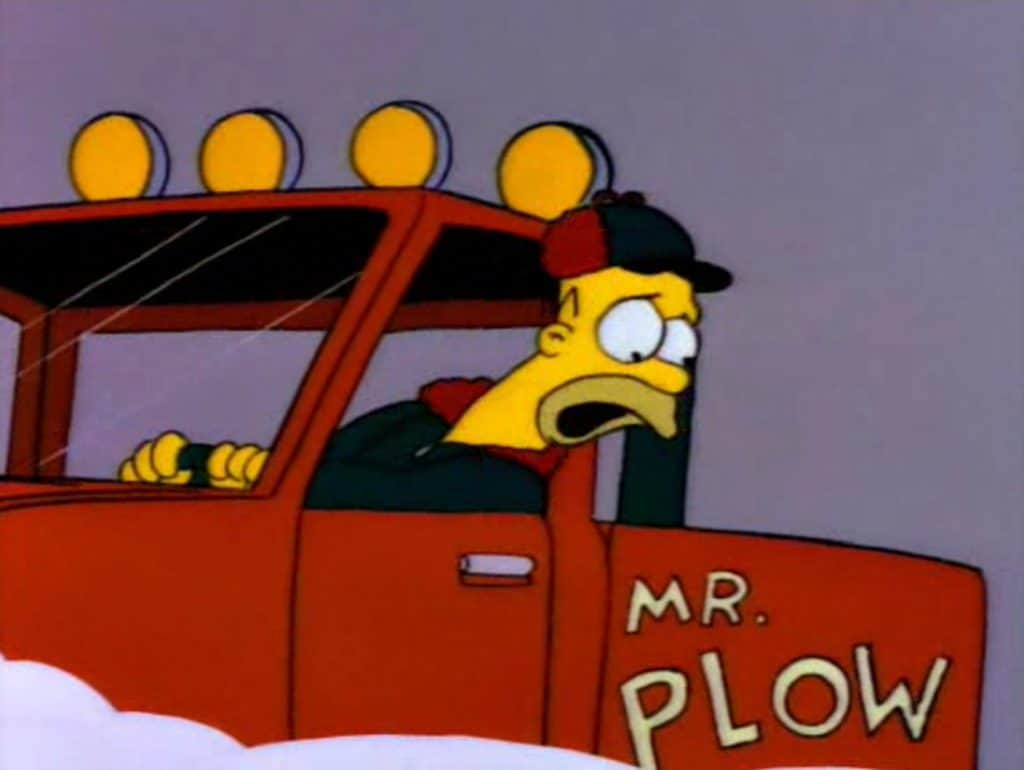 The Simpsons - Mr. Plow
