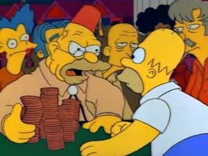 The Simpsons - Old Money