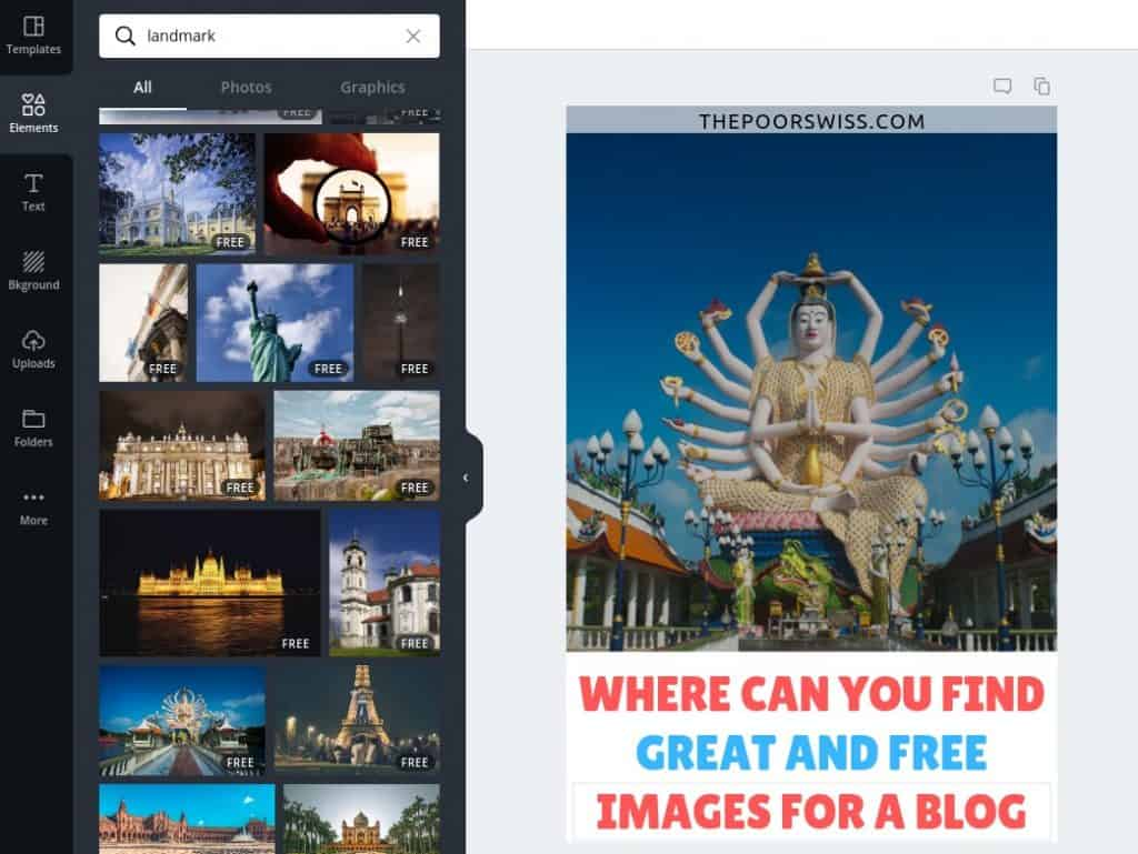 You can also find some images in Canva