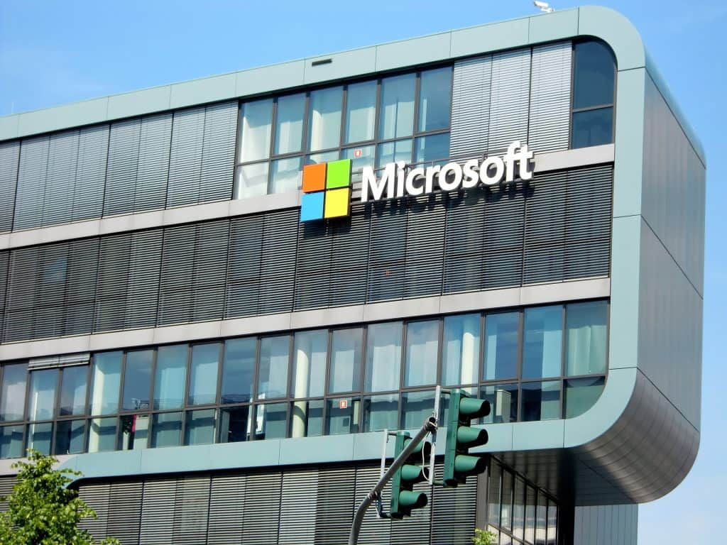 Microsoft is currently the largest company in the S&P 500 index