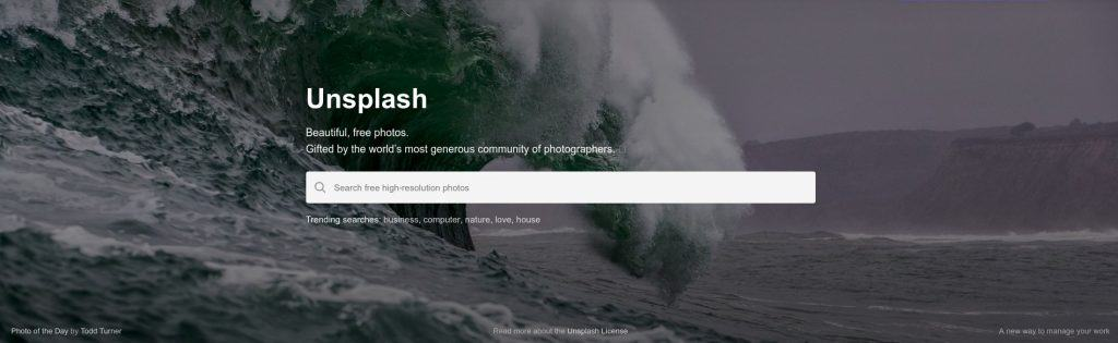 Unsplash is an awesome collection of free pictures