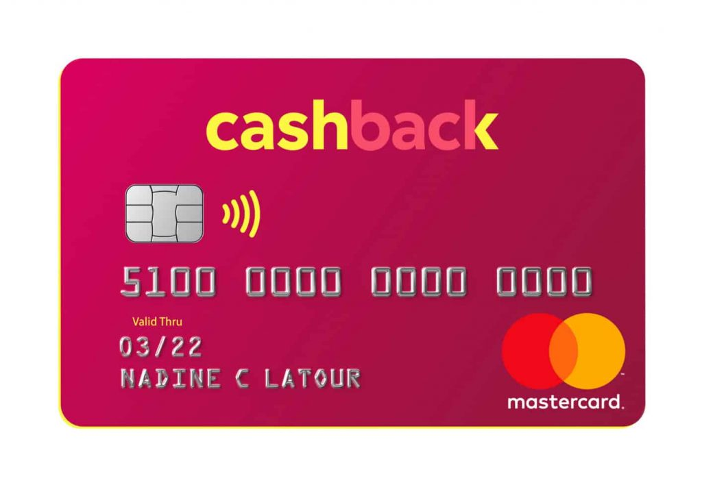 The new Swisscard Cashback MasterCard