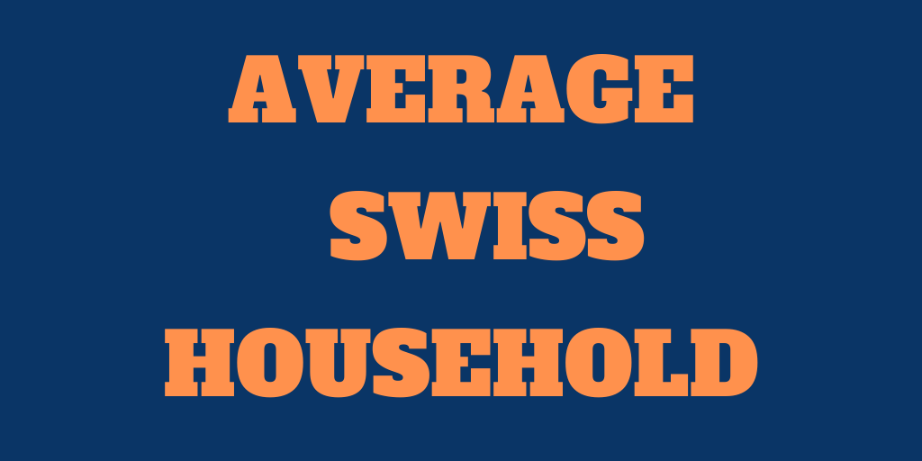 The Poor Swiss versus the Average Swiss Household