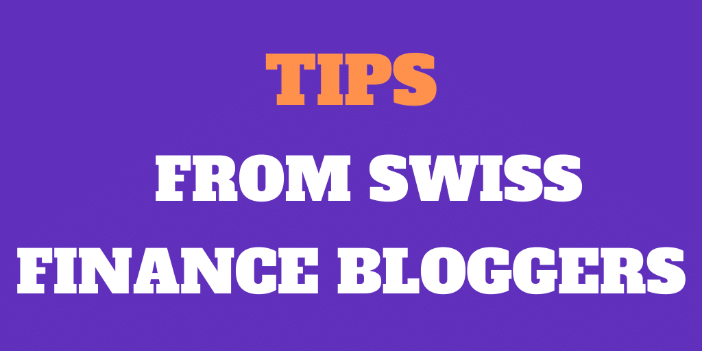 5 Frugal Tips from Swiss Finance Bloggers