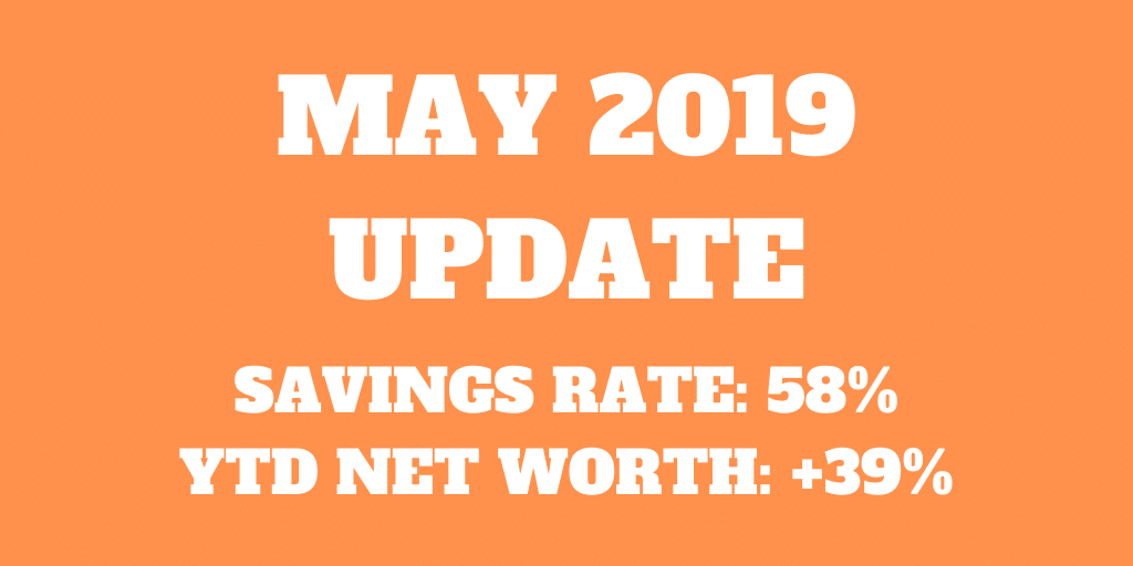 May 2019 – Finally a cheaper month!