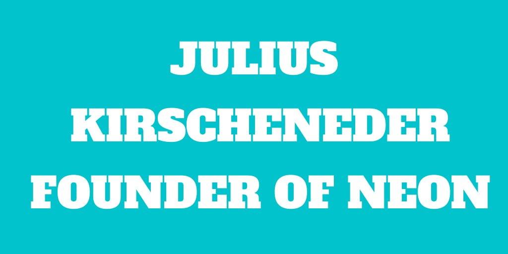 Interview of Julius Kirscheneder, Founder of The Neon Bank