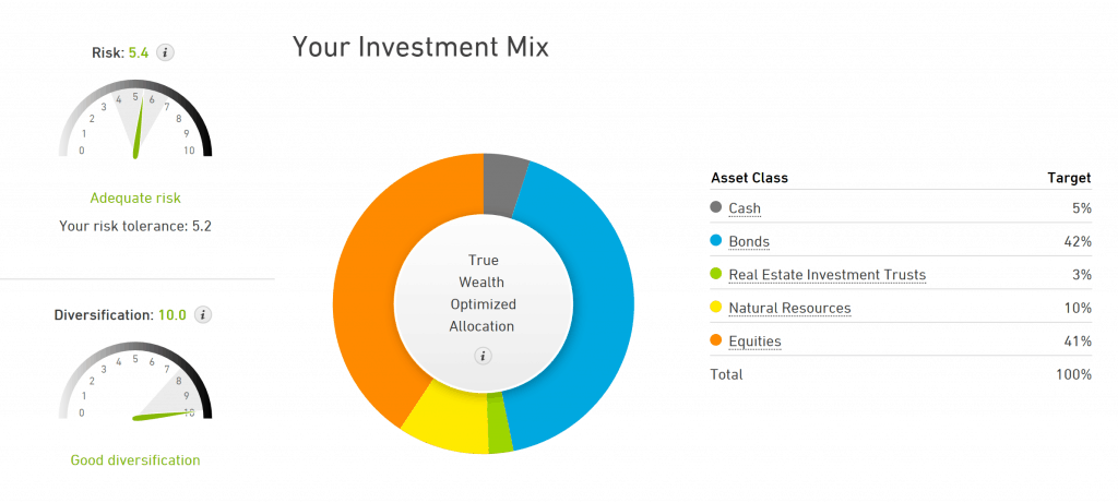 True Wealth Sample Portfolio