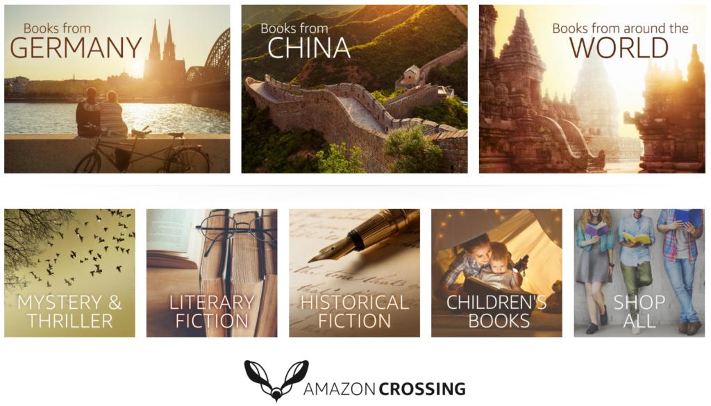 Get international ebooks with Amazon Crossing