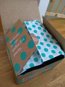 A ThredUp clothes box
