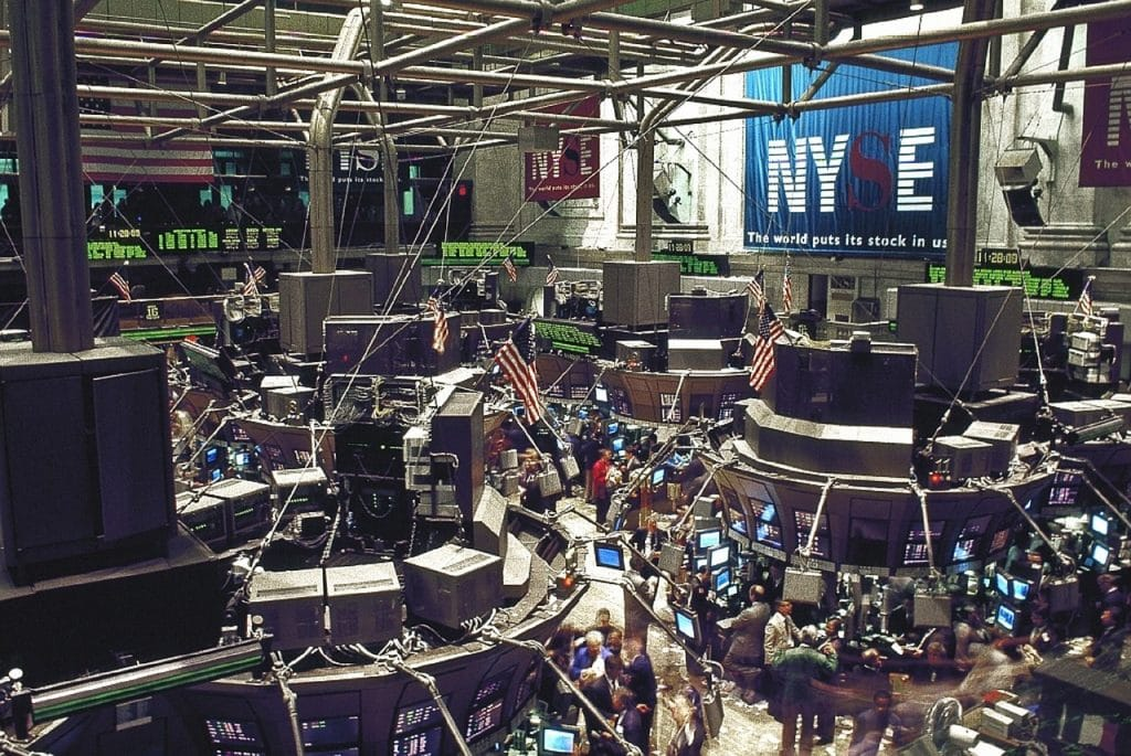 The famous New York Stock Exchange (NYSE)
