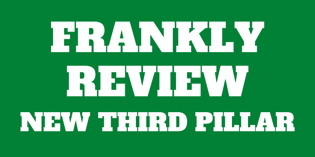 Frankly 3a Review: A good new third pillar from ZKB