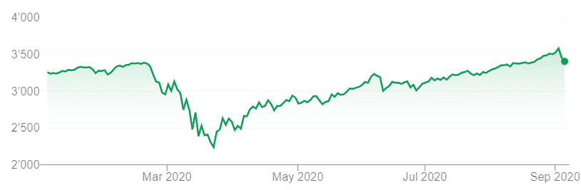 The U.S. Stock Market during COVID-19