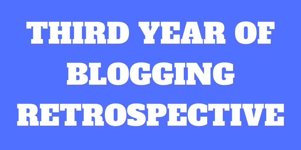 Third Year of Blogging - The Poor Swiss is 3 years old!