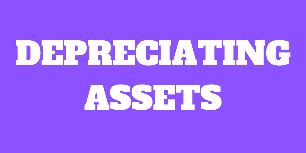 Depreciating assets will hurt your wealth