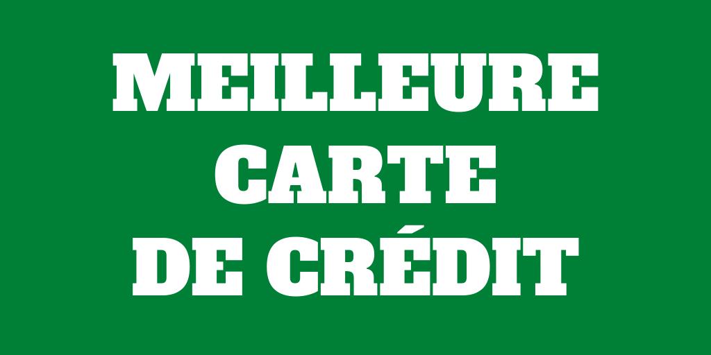 Quelle est la meilleure carte de crédit en Suisse pour 2020'