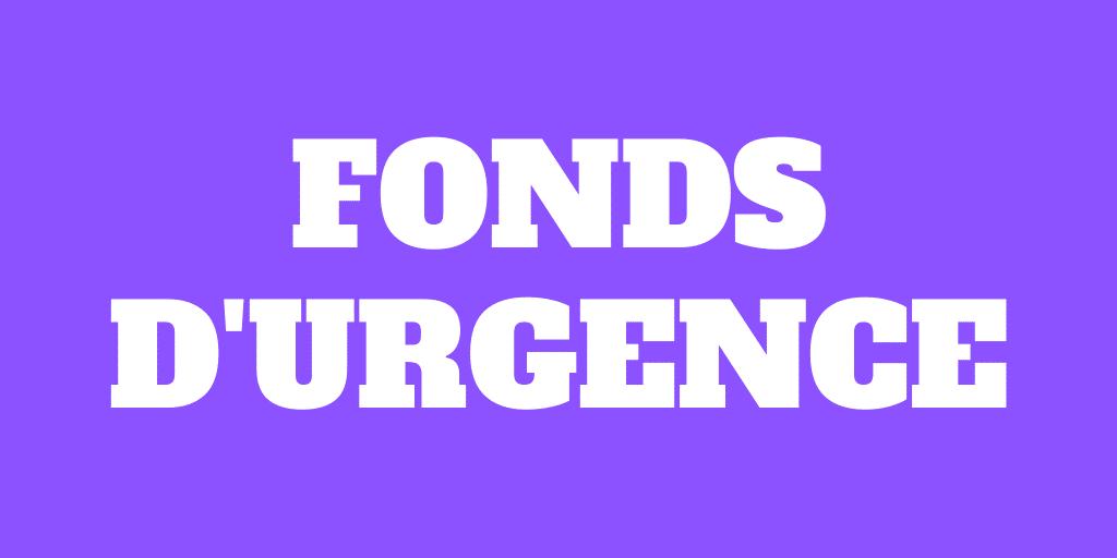 Fonds d'urgence – En avez-vous besoin en 2021?