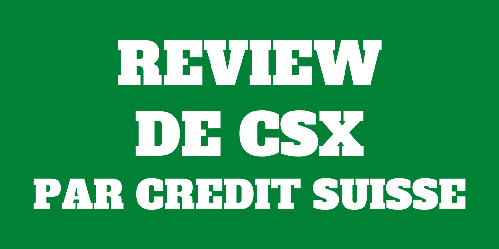 Review de CSX 2021 - Compte digital de Credit Suisse