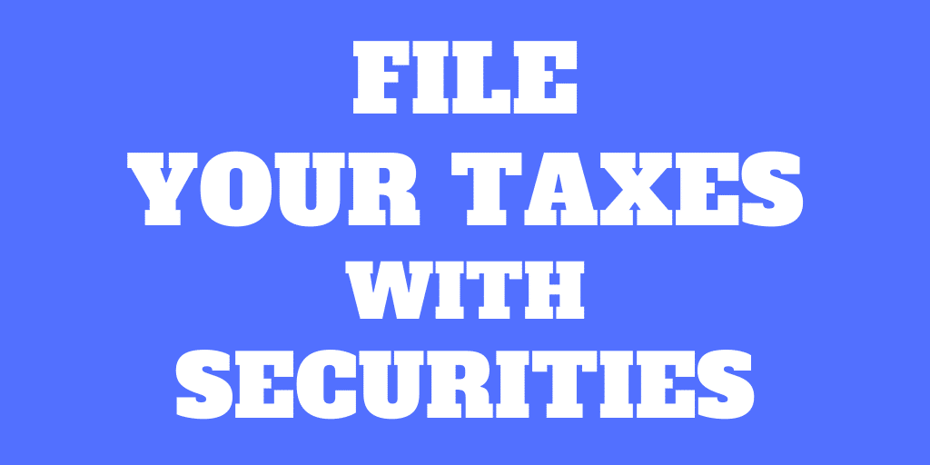 How to file your taxes with Swiss and foreign securities