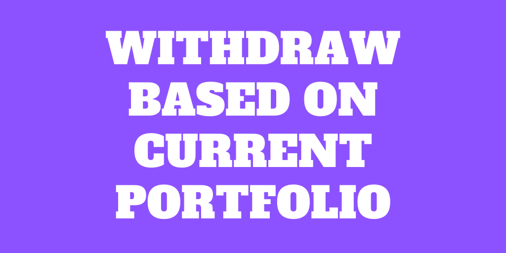 Can you withdraw 4% of your current portfolio?