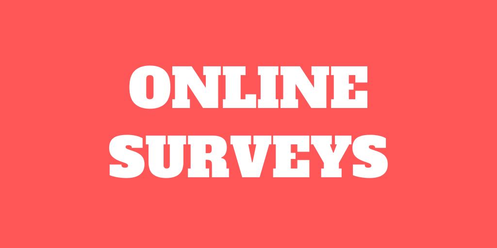 Make money online with online surveys