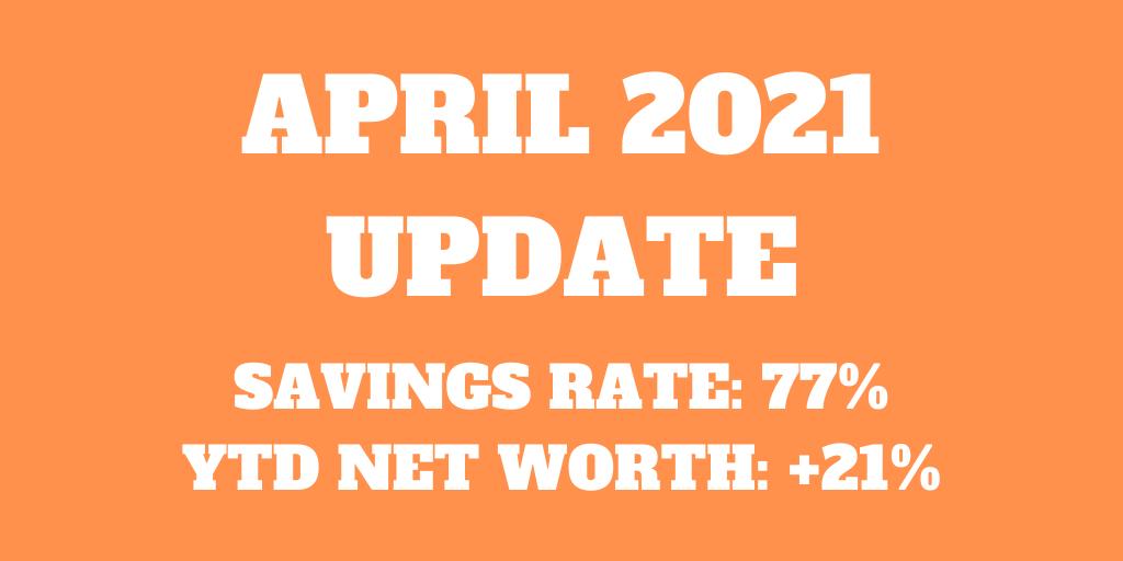 April 2021 – A quiet month