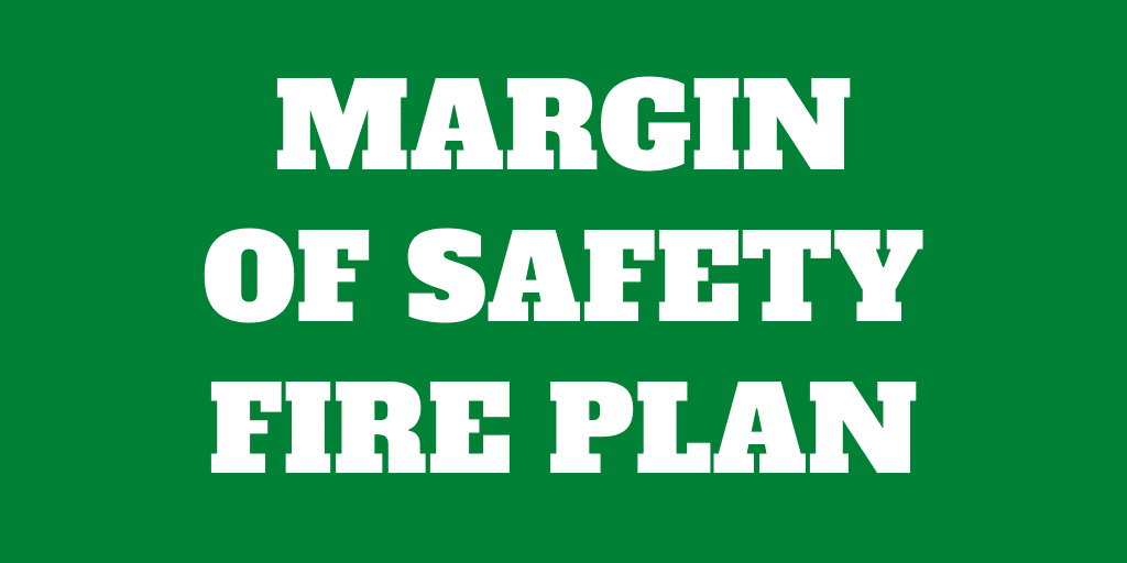 Add some margin of safety to your FIRE plan
