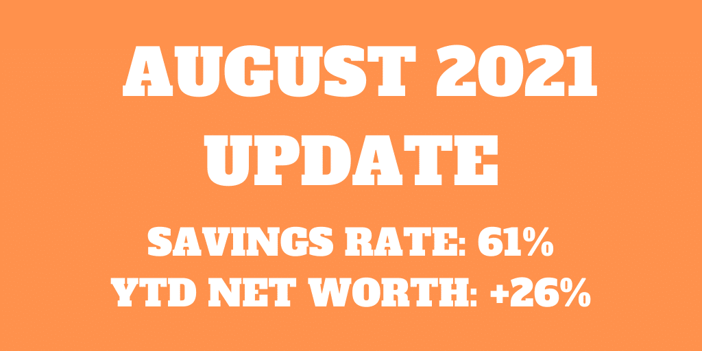 August 2021 – A good simple month