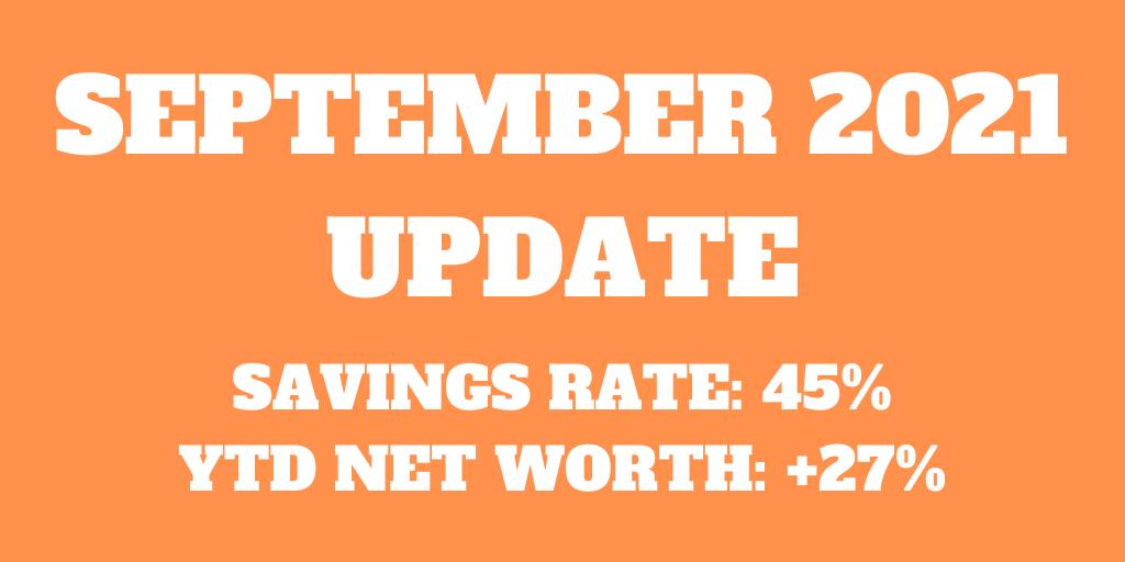 September 2021 – Some big news